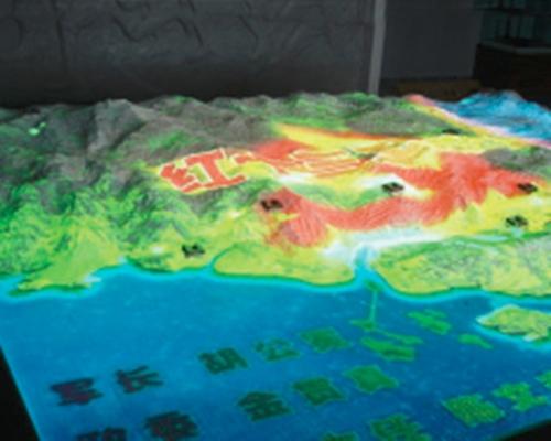区域规划沙盘模型