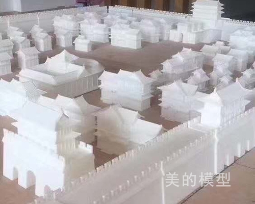 古典建筑模型