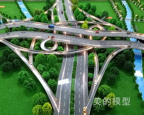 高架路网展示模型