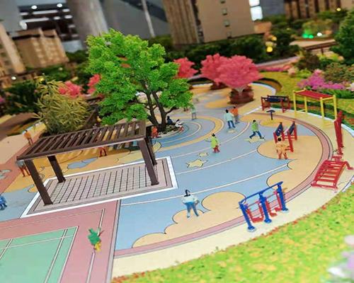 公园规划模型